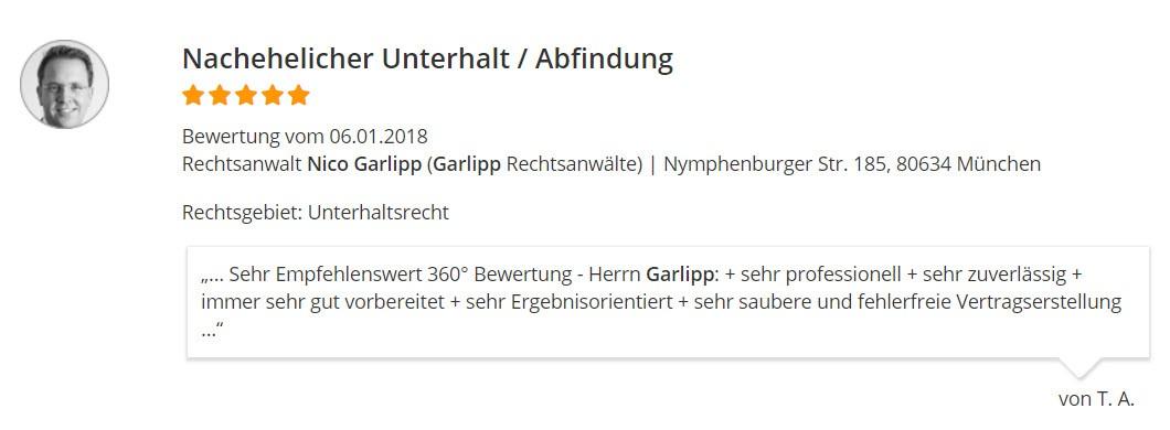 RA Garlipp Familienrecht Bewertung