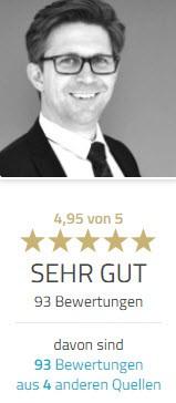 Empfehlung Rechtsanwalt München